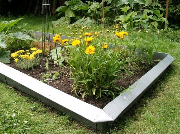 Slug fence, set for 6 qm, incl. 4 standard corner pieces