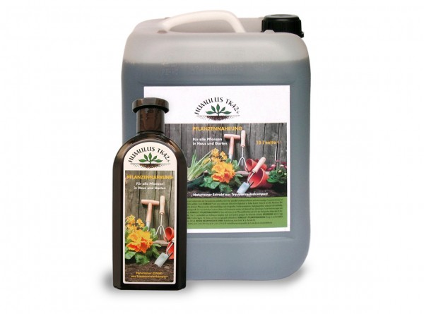 Humulus liquid fertilizer, vegan, Set 10 liter plus 0.5 liter