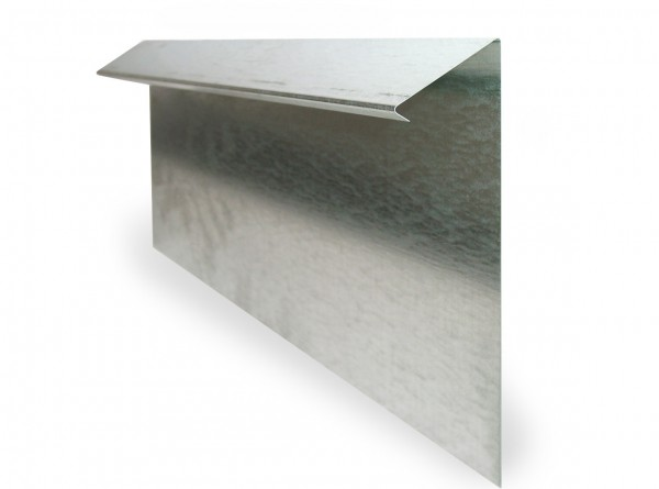 Slug fence strip, 50 cm, galvanized